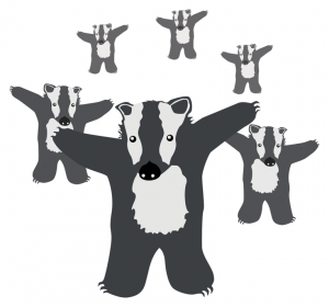 Badger Badge (most badges)