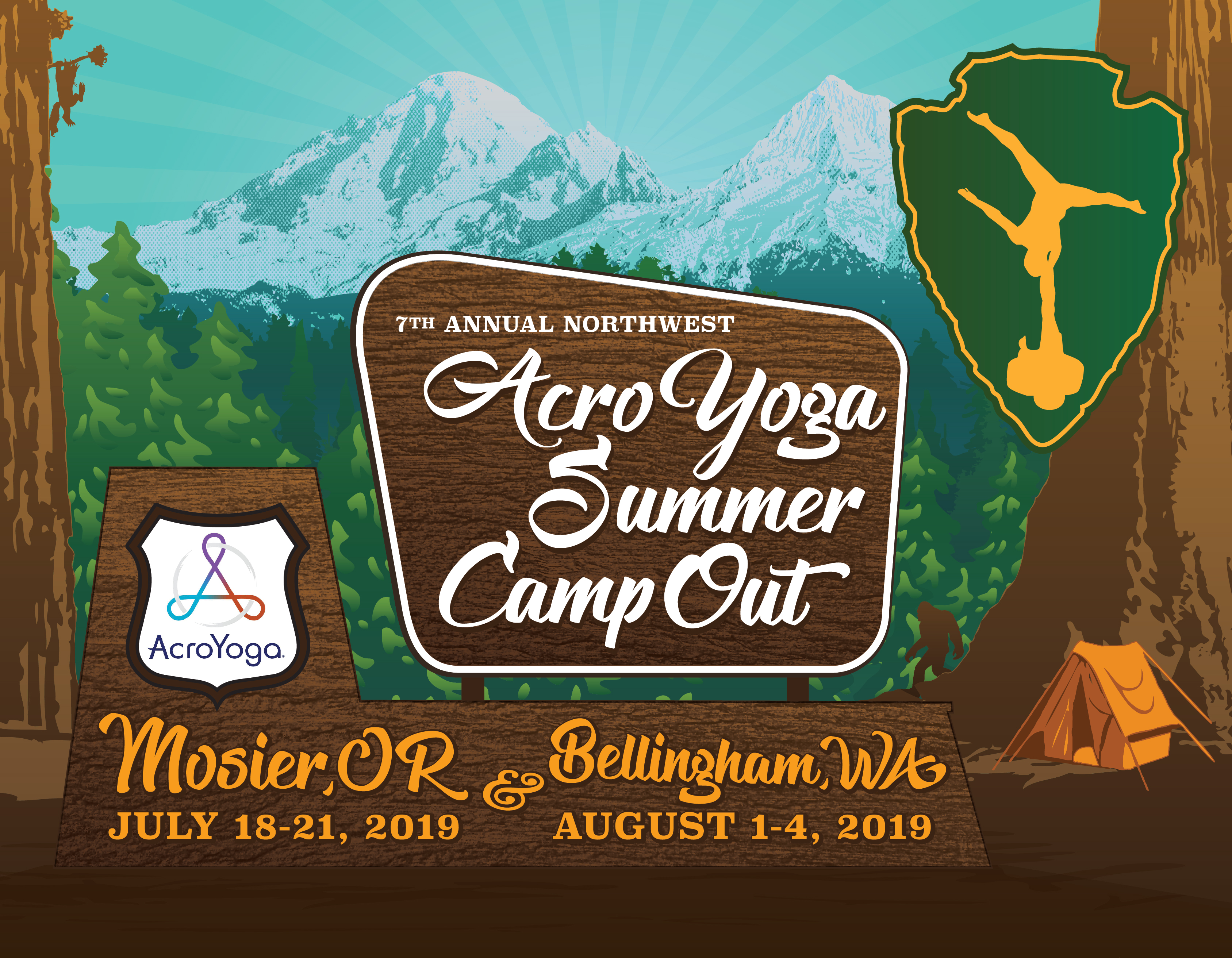 Northwest AcroYoga Summer Camp Out